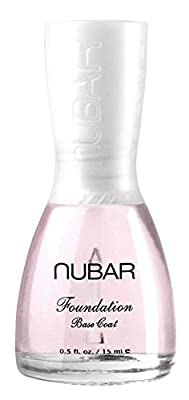 Nubar Foundation Base Coat Prevents Colour Nail Staining 15ml