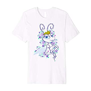 Disney Pixar Bugs Life Queen Atta Floral Graphic T-Shirt
