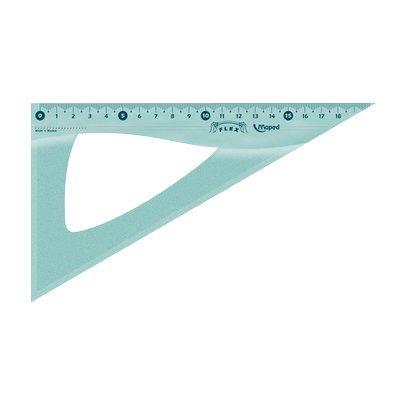 Squadra 45° 32 cm 244432 Linea infrangibile Flex Maped