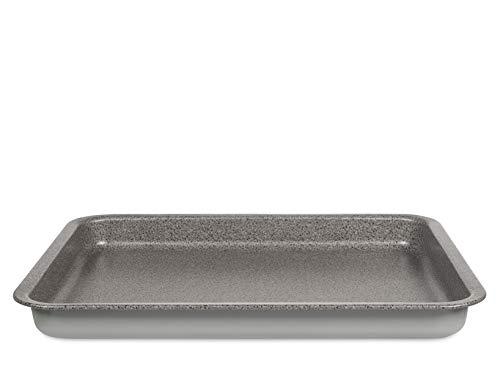 Habi venere teglia forno, antiaderente, grigio, 42x35 cm