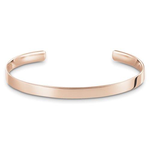 Thomas Sabo Damen-Armreifen Silber_vergoldet AR087-415-12-L