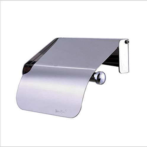 Toilettenpapierhalter Edelstahl Einfache Spezialpapier Handtuchhalter Bad Punsch Hell Licht Tissue-Box