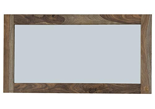 MASSIVMOEBEL24.DE Palisander Holz massiv Spiegel Sheesham Massivmöbel Nature Grey #071