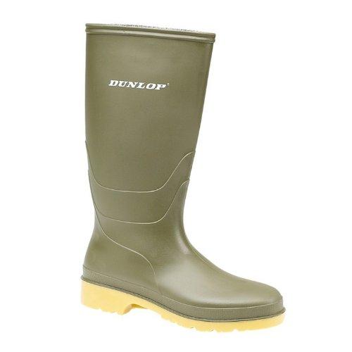 Dunlop - RAPIDO PVC LAARS GROEN, Stivali per bambini e ragazzi Verde (Grün)