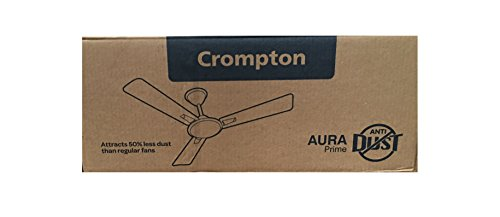 Crompton Aura Prime Antidust 1200 MM Ceiling Fan (Himalayan Grey)