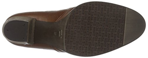 Zinda Ladies 25 Short Boots Brown (cuero)
