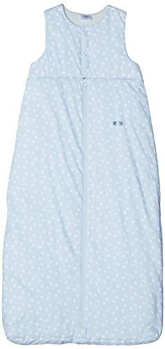 Twins Unisex Baby Schlafsack ärmellos mit Sterne Print, Blau (Omphalodes 13-4200), 104 (Herstellergröße: 110)