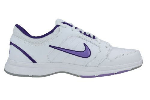 Nike Donna stazionario Ix addestratori correnti delle scarpe da tennis 525739 (uk 4 Us 6.5 Eu 37,5, white medium violet court purple 100