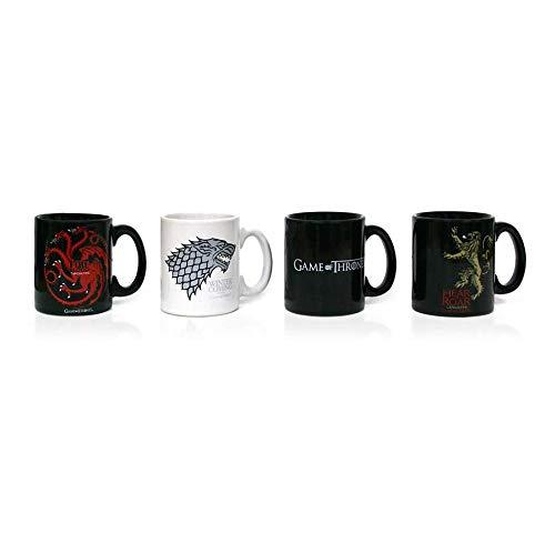 Set de 4 Mugs à Expresso - Game of Thrones