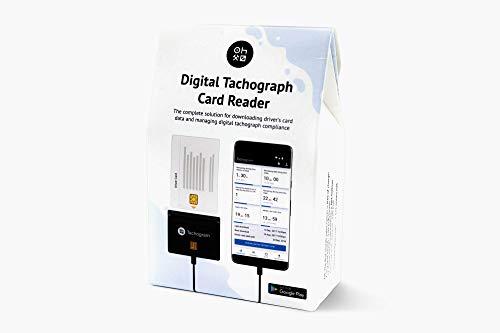 Tachograph-Kartenleser - Lesen, Herunterladen, verfolgen und analysieren Sie Ihre Fahrerkarte Digitale Fahrtenschreiberdaten direkt auf Ihrem Handy mit Tachogramm