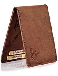 Donbolso Slim Wallet Madrid Leder Herren