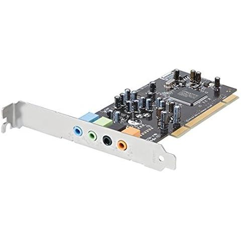 Creative Sound Blaster 5.1 VX - Tarjeta de sonido (24 Bit, 5.1, MP3, WAV, WMA, PCI, 512 MB, Intel Pentium 4 1.6 GHz, AMD Athlon XP 2000+)