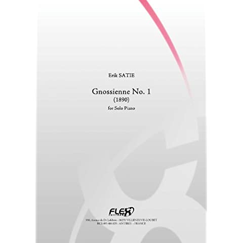 CLASSICAL SHEET MUSIC - Gnossienne No. 1 - E. SATIE - Solo Piano