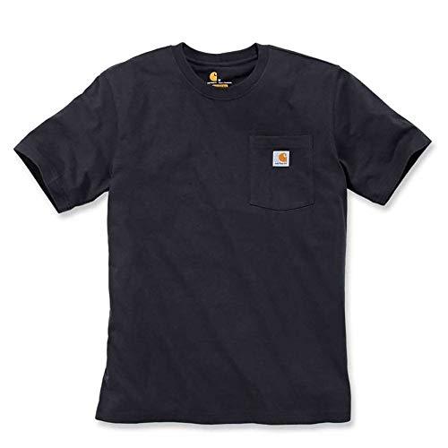 Carhartt Workwear Pocket T-Shirt Black, Schwarz, M (Pocket T-shirts Für Männer)