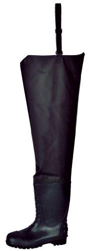 Portwest Fw71bkr38Série Fw71Sécurité Taille Wader, S5, Regular, taille: 38, Noir Noir - Noir