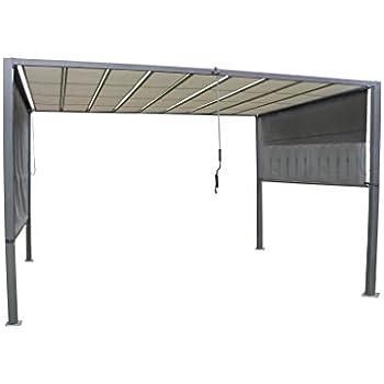 leco milano aluminiumrahmen und stahldachrohre mit pulverbeschichtung anthrazit. Black Bedroom Furniture Sets. Home Design Ideas