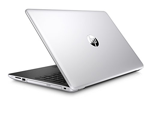 HP 15-BS636TU Portable 15.6 FHD Laptop (6th Gen Intel Core i3 Processor i3-6006U/4GB/1TB/Windows 10 Home 64-Bit/Intel HD Graphics 520) with Anti Glare and Fast Charge Support- Natural Silver