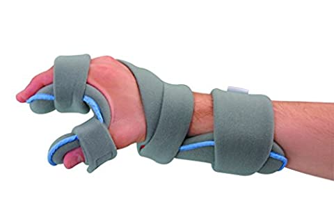 Medically Approved Resting Splint for Wrist, Hand & Fingers - Includes Free Spare Liner - Supplied to the NHS (Large / LEFT (Palm Width: 8.5 -