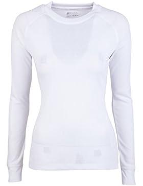 Mountain Warehouse Camiseta manga larga cuello redondo Talus para mujer