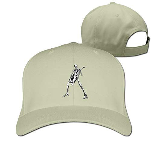 Osmykqe Halloween Party Cool Skul Adjustable Baseball Cap Washed Cotton Plain Hat Fits Men Women