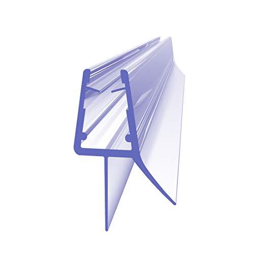 Ersatzdichtung Wasserabweiser Duschdichtung Schwallschutz Duschkabine Bad 4-6mm Glas 1000mm Glas Dichtungen