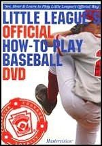 Little League's Official How-to-Play Baseball DVD by Union NJ Little Leaguers