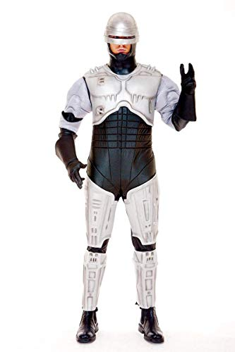 Paper Magic Men's Robocop Costume Silver, Small or Large