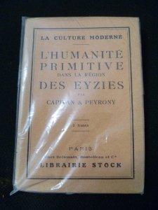 L'humanité primitive dans la région des eyzies.