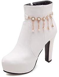 43 Para Zapatos Amazon Mujer Plataforma es Botas tgxqZX