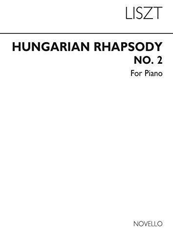 Liszt, f hungarian rhapsody no 2 piano piano