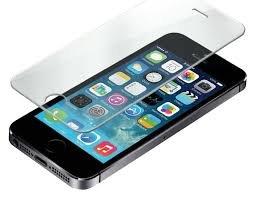 Protector Cristal Templado iPhone 5S / 5 / SE, Spigen® [EASY-INSTALL alas]...