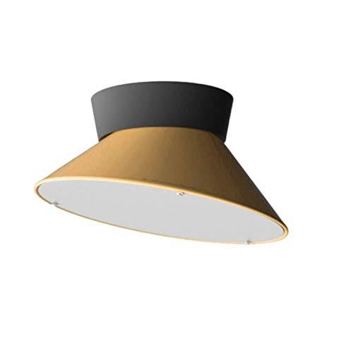 ZHAO YING Kreative Art LED-Deckenleuchte, Kinderzimmer-Beleuchtungs-Schüssel-Form-Lampenschirm-Deckenleuchte-mehrfarbiges Schlafzimmer-Hotel-Dekor (Color : Yellow) - Große Schüssel Kronleuchter