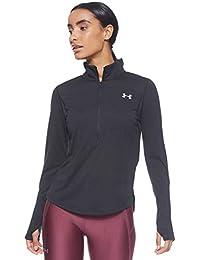 Under Armour Damen UA Streaker 2.0 Half Zip atmungsaktives Sportshirt mit Half Zip, schnelltrocknendes Funktionsshirt mit Reißverschluss