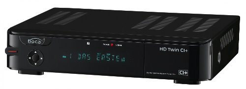 BOCA HD TWIN CI+ HD-Twin-Tuner SAT Receiver schwarz