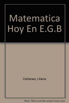 Matematica Hoy En E.G.B