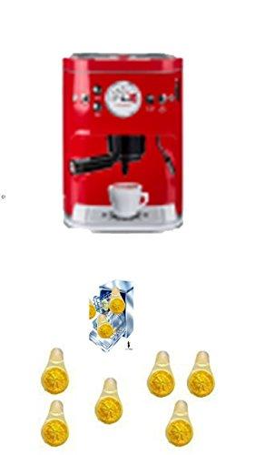 Vorratsdose im 'Kaffee-Vollautomat' Design. rot klein Für Kaffeepads, Kaffeepulver, Kakao Zucker, +...
