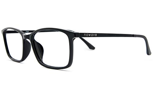NOWAVE Gafas Neutras para PC, Smartphone, TV y Gaming | Eliminan la fa