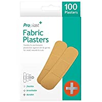 Wasserabweisendes Pflaster aus Stoff - Waterproof Fabric Plaster - 100st/Packung - vertrieb durch ABAV (2) preisvergleich bei billige-tabletten.eu