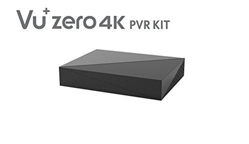 VU+ 620462 Zero 4K PVR Kit Inklusive HDD, 1TB, schwarz