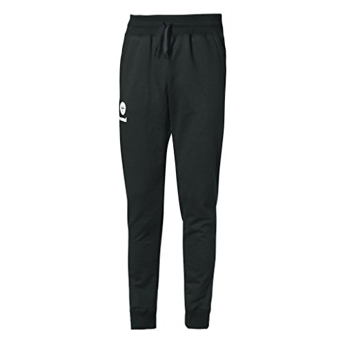 Pantalon Hummel Fit Molleton noir/jaune