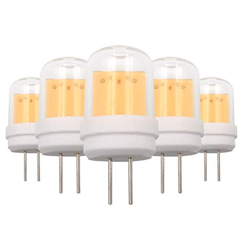 G4 LED-Leuchtmittel, Typ JC, 4 W, COB, 220-240 V, ersetzt 30 W Halogenlampen, 5 Stück
