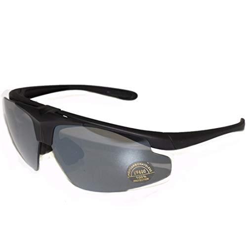 Retro Vintage Sonnenbrille, für Frauen und Männer Sport polarisierte Sonnenbrille for männer Frauen Fahren Angeln Golf Metall Brille uv400 (Farbe : Grau)