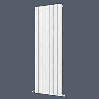 1800 x 595mm Brass Aluminium Alloy Vertical Column Radiator High Efficiency Radiating White Flat Panel