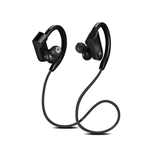 TOOGOO Sport Bluetooth Kopfh?rer Drahtlose Kopfh?rer Wasserdichte Audifonos Bluetooth Kopfh?rer Stereo Bass Headset Mit Mikrofon (Schwarz)