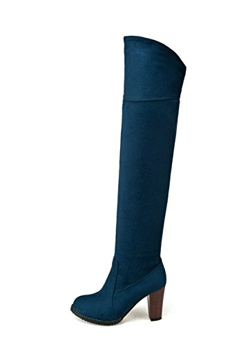 Motardes BalaMasa femme Bottes femme Bleu Bottes Bleu BalaMasa Motardes qZYvwUx