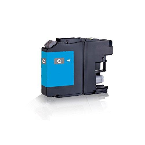 1x kompatible Tintenpatrone für Brother Cyan - Blau LC223 XL LC225 XL LC227 XL DCP-J 4120 DW MFC-J 4420 DW MFC-J 4425 DW MFC-J 4620 DW MFC-J 4625 DW MFC-J 5320 DW - Eco Line Serie - Kompatible Cyan Tintenpatrone