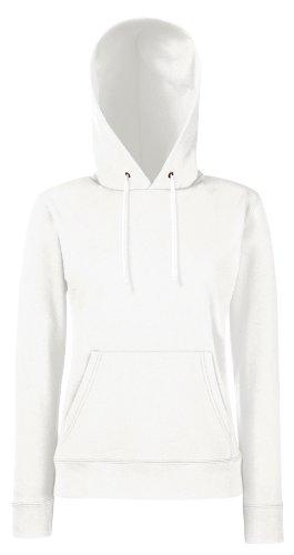 Damen Kapuzen Sweatshirt Hoodie Pullover Shirt verschiedene Größe und Farben - Shirtarena Bündel White