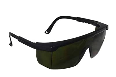 SafeLightPro F5 Special Eye Protection Against Light impulses (Flashes) emitted by HPL and IPL Hair Removal Devices, Eye Protection Goggles-Safety Glasses, UV Protection