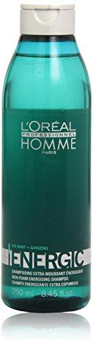 L'Oréal Professionnel Shampooing Extra Moussant Energisant Homme 250 ml