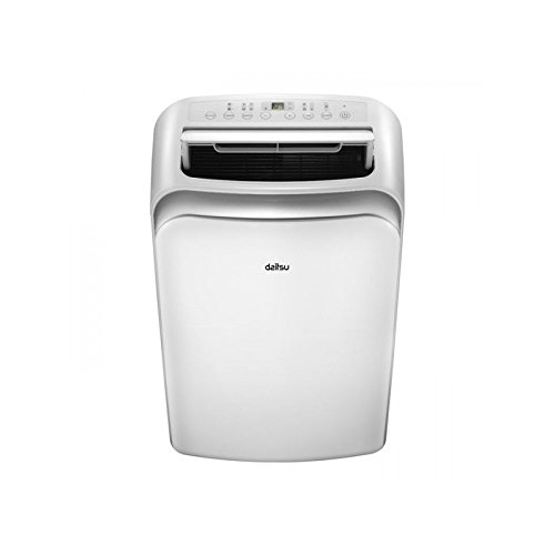 DAITSU Electric APD9-CRV2 64dB Color blanco - aire acondicionado portátil (A, 1,01 kWh, 230 V, 50 Hz, Color blanco, 467 mm)